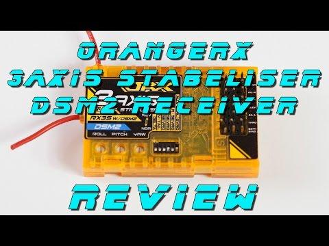 DutchRC - OrangeRX RX3S 3-Axis stabilizer w/DSM2 - REVIEW
