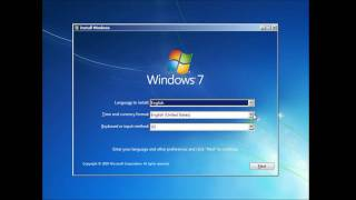 Formatting and Clean Install of Windows 7
