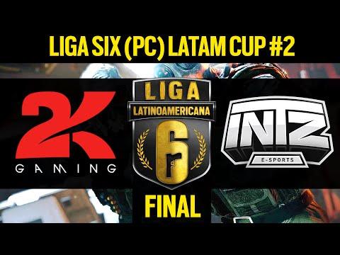 FINAL - 2Kill Gaming VS INTZ e-Sports- Liga Six PC LATAM Cup #2 - Rainbow Six Siege