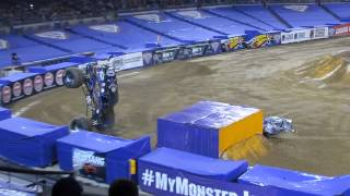 "Monster Jam 2015 ""Son Of A Digger"" Freestyle, Petco Park - San Diego"