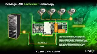 LSI CacheVault Technology