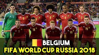 BELGIUM SQUAD FOR FIFA WORLD CUP RUSSIA 2018