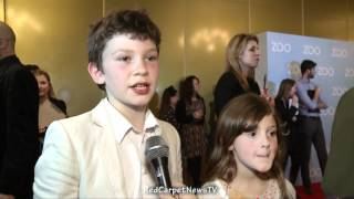 Children Interview - We Bought A Zoo UK Premiere