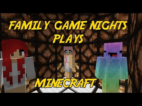 Family Game Nights Plays: Minecraft Part 19 - CDF Testing Facility Adventure Map (PC)
