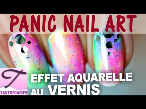 panic nail art tuto vernis effet aquarelle inratable et rapide fa on opi sheer tints youtube. Black Bedroom Furniture Sets. Home Design Ideas