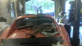 EVVette Weekend 2 Engine & Transmission Removal #5 View 2