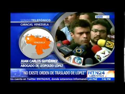 """Abogado de Leopoldo López confirmó que """"no existe orden de traslado de prisión"""""""