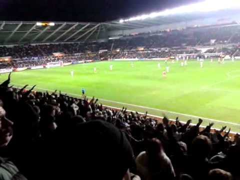 Swansea City V Arsenal - Hymns & arias