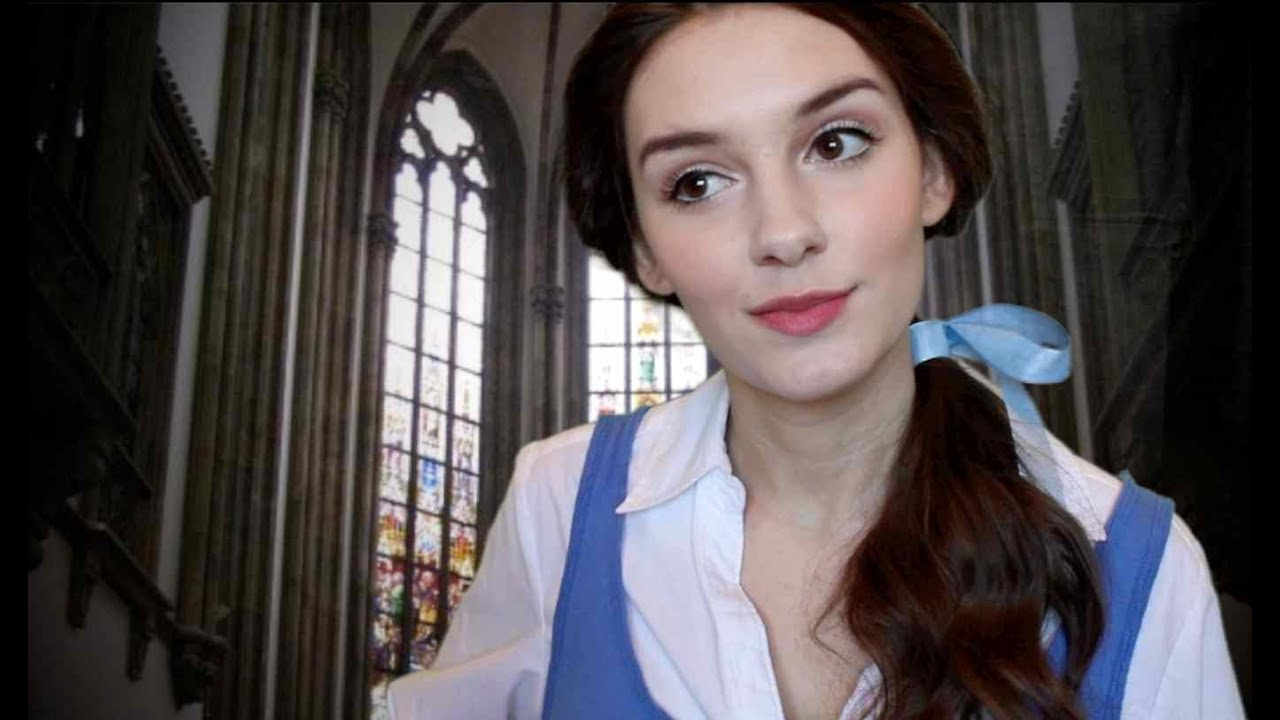 Disney Princess Belle Makeup �� Youtube