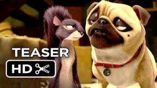 The Nut Job Official Teaser Trailer #1 (2014) - Will Arnett Animated Movie HD