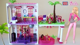 Mega Bloks Barbie Beach House - Barbie Lego Dollhouse
