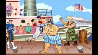 Street Fighter vacation