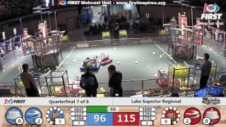 Quarterfinal 7 - 2017 Lake Superior Regional