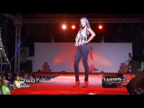 (HQ) Miss Ghana 2012 Street Fashion Show Part 1 (Wendy L'atisan, Ettien Hans, Neyomi, Poqua Poqu)