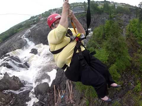 grand falls nb zip line