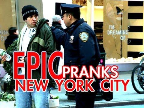 Bromas - Bromas y sustos en Nueva York