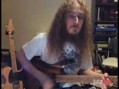 Guthrie Govan 32nd Note Strumming video