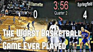 The Worst Basketball Game Ever Played