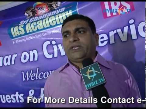 Chaitanya Prasad Ias R.k Rao at Sri Chaitanya Ias