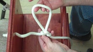 Super Easy Alpine Butterfly Knot