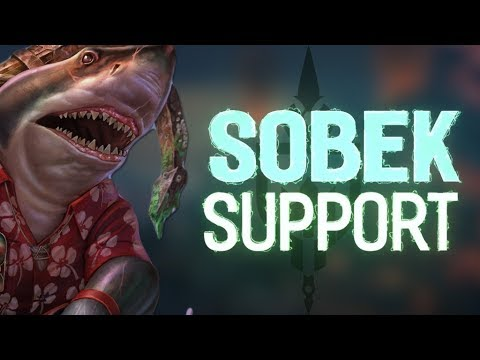 SOBEK RANKED SUPPORT: THIS SHARK IS LURKING IN THE WATERS! - Incon - Smite