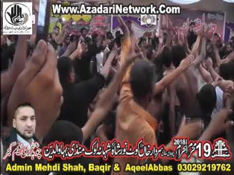 Zeeshan Haider Jafri 19 Muharram 2018 Kot Noor Shah Mandi Bhawalddin