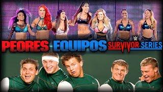 Los 10 Peores Equipos en la Historia de Survivor Series
