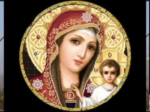 вышивка иконы крестиком: