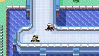 Pokemon Emerald Playthrough Part 46 Mirage Tower Fall -- The Hunt for Norman!