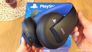 Playstation Wireless Stereo Headset 2.0 (Gold) - test (recenzja) słuchawek Sony PS4, PS3 i PS Vita