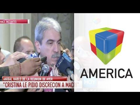 Aníbal Fernández dijo que Macri no tuvo vocación para la transición
