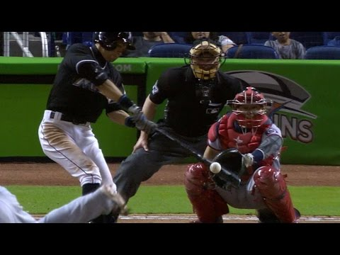 WSH@MIA: Ichiro collects four hits for the 52nd time