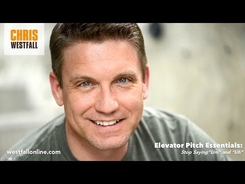 Elevator Pitch Essentials with Chris Westfall - Stop Saying