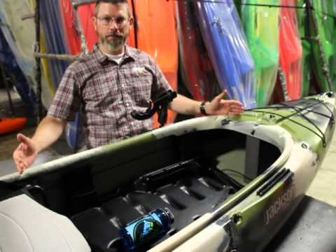 Jackson Kayak Kilroy fishing kayak walkthrough