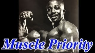 Leroy Colbert talks about MUSCLE PRIORITY