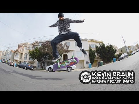 Kevin Braun flipping and ripping on a 26 inch Slasher!