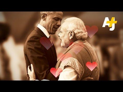 Obama & Modi Bromance Develops After Visit To India