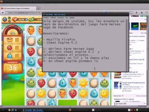 Hack para Farm Heroes Saga Cheat Engine 2013 Funciona!!!
