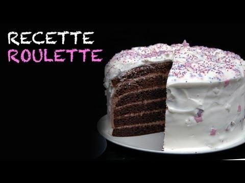 Layer Cake Genoise Chocolat Et Chocolat Blanc