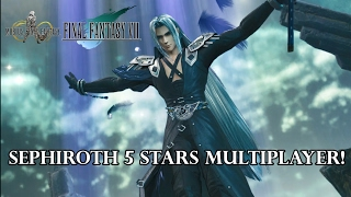 """Mobius Final Fantasy - Multiplayer Boss """"Sephiroth"""" 5 stars ! How To fight ?"""