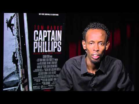 CAPTAIN PHILLIPS movie interview - BARKHAD ABDI - Lead Somali Pirate