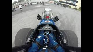 Ed Bliss Jr. Front engine dragster
