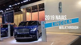 Lincoln display walkthrough at the 2019 Detroit auto show
