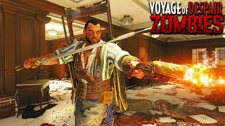 VOYAGE OF DESPAIR - MAIN EASTER EGG GAMEPLAY HUNT (Black Ops 4 Zombies Gameplay)