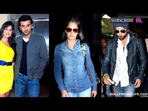 OMG   Katrina Kaif and Ranbir Kapoor stop speaking to each other!