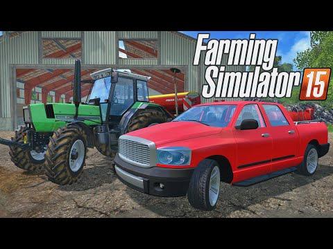 Farming Simulator 2015 - Comprando Carro