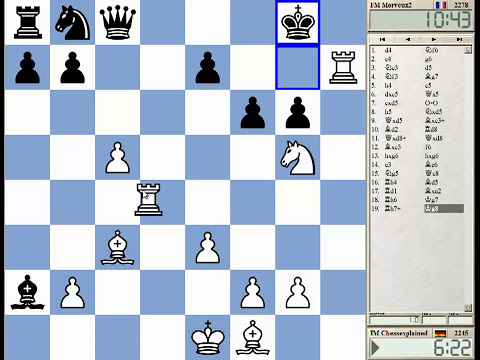 15 Min Chess #67 with Live Comments Grunfeld