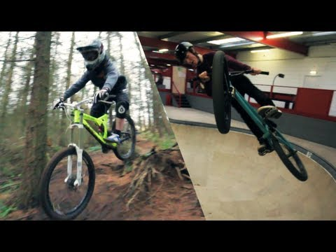 Robbie Dunlop | Downhill vs BMX | By Glen