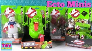 Ghostbusters Movie Ecto Minis Blind Bags Slimer Mayhem Action Figures Opening | PSToyReviews