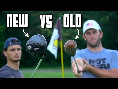 Playing Golf With New Clubs Vs Old Clubs Feat. Brodie Smith - Challenge